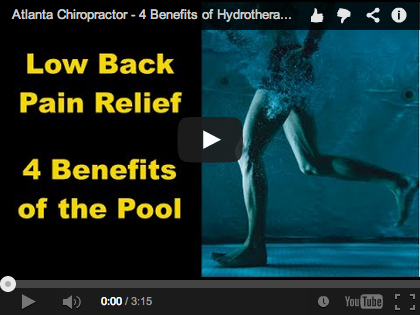 Atlanta chiropractor hydrotherapy